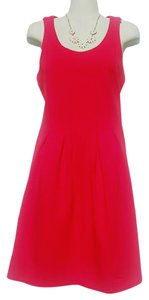 J.Crew short dress red Structured Bodycon Teacup Everyday on Tradesy