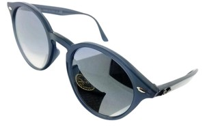 Ray-Ban RB2180F-62327B Highstreet Men's Blue Frame Blue Lens Sunglasses