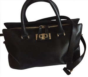 Furla Satchel in Black leather