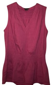 Theory Top Dark Pink
