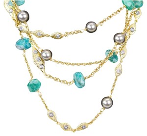 Alexis Bittar Alexis Bittar | Amazonite Multi-Strand Necklace