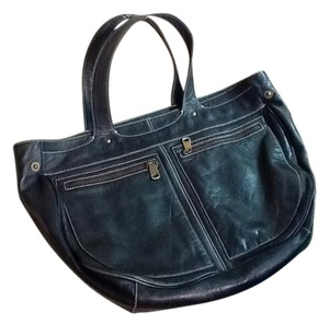 Marc by Marc Jacobs Topstitched Large Versatile Tote in Black