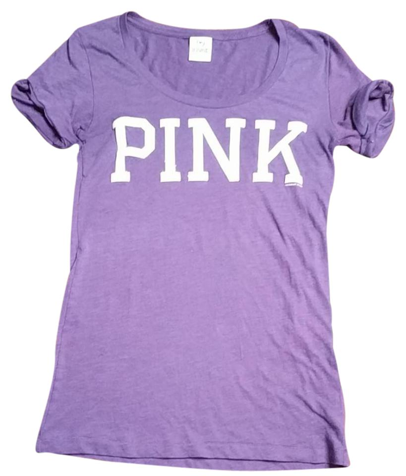 97bad5d35 PINK Purple and White Tee Shirt Size 4 (S) - Tradesy