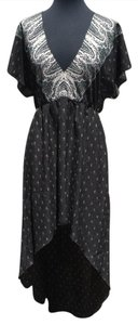 black and white Maxi Dress by Ecote