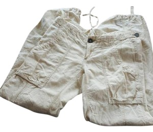 Free People Cargo Pants Khaki