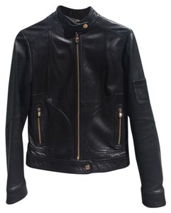 Laundry by Shelli Segal black Leather Jacket