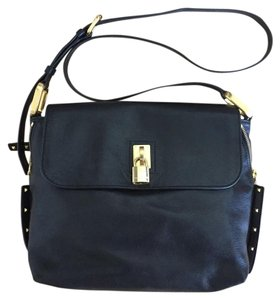 Marc Jacobs Studded Zipper Padlock Vacation Casual Luxury Cross Body Bag