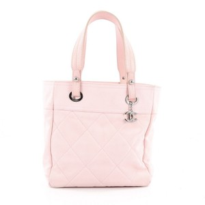 Chanel Canvas Tote in Pink