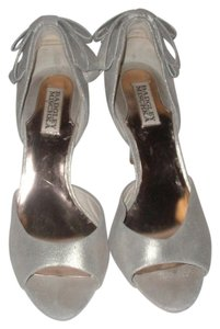 Badgley Mischka Metallic Gold Dust Sandals