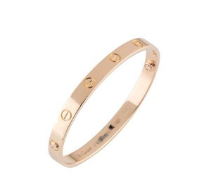 Cartier Cartier Love Bracelet Rose Gold Size 21