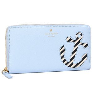 Kate Spade OVERBOARD LACEY EXPAND YOUR HORIZONS SAFFIANO LEATHER WALLET