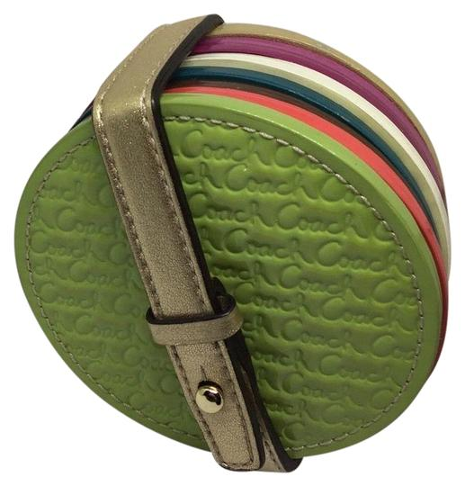 Preload https://img-static.tradesy.com/item/21103971/coach-multicolor-legacy-heritage-colored-embossed-leather-coasters-set-0-1-540-540.jpg