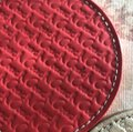 Coach COACH LEGACY HERITAGE MULTI COLORED EMBOSSED LEATHER COASTERS SET Image 5