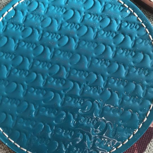 Coach COACH LEGACY HERITAGE MULTI COLORED EMBOSSED LEATHER COASTERS SET Image 7