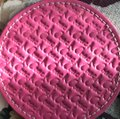 Coach COACH LEGACY HERITAGE MULTI COLORED EMBOSSED LEATHER COASTERS SET Image 8
