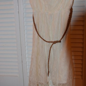 Rue 21 short dress white on Tradesy