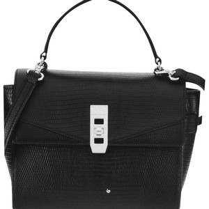 Henri Bendel Satchel Mini Leather Cross Body Bag