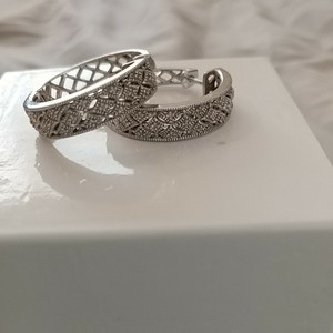 Kay Jewelers .25cttw Diamond Hoops