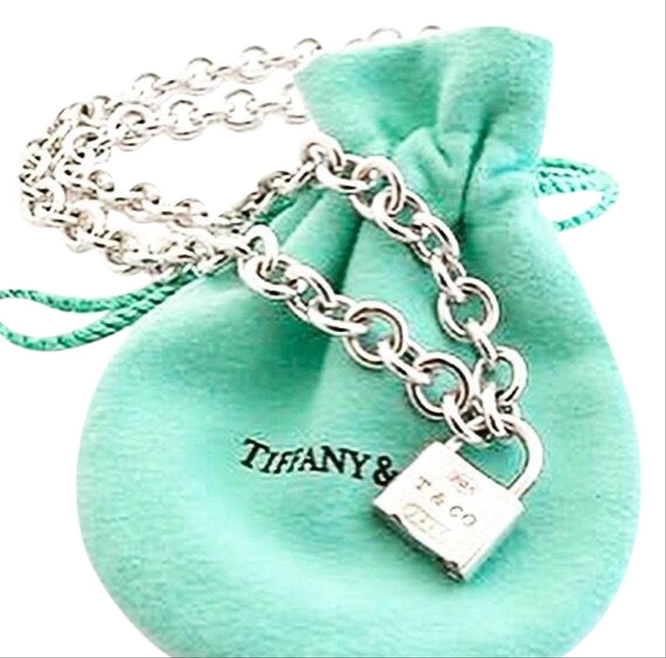 63677c646 Tiffany & Co. Sterling Silver 1837 Padlock Necklace Image 0 ...