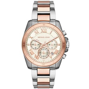 Michael Kors NEW Michael Kors MK6368 Women's Brecken Two Tone Chronograph Watch