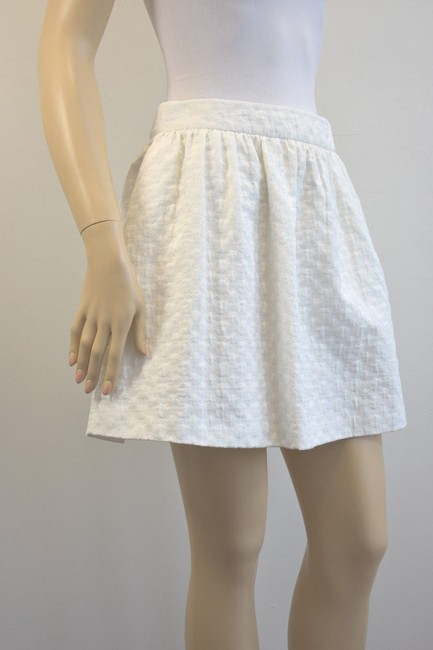 Karen Millen Karen Millen Cotton Blend White Skirt Suit Size 2 On Sale sh Image 1