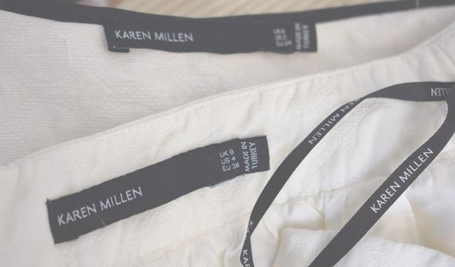 Karen Millen Karen Millen Cotton Blend White Skirt Suit Size 2 On Sale sh Image 7
