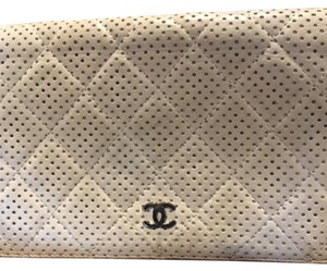 Chanel perforated leather