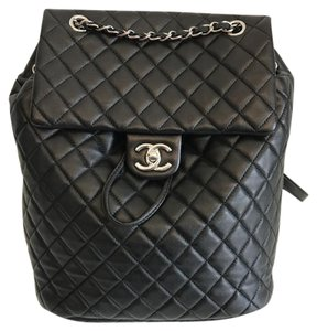 Chanel Urban Spirit Quilted Classic Backpack