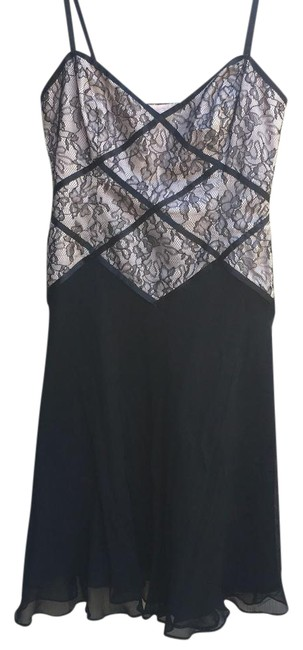 Preload https://img-static.tradesy.com/item/21104585/maggy-london-black-and-pink-short-cocktail-dress-size-4-s-0-1-650-650.jpg