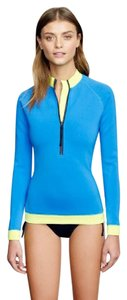 J.Crew Neoprene rash guard in colorblock