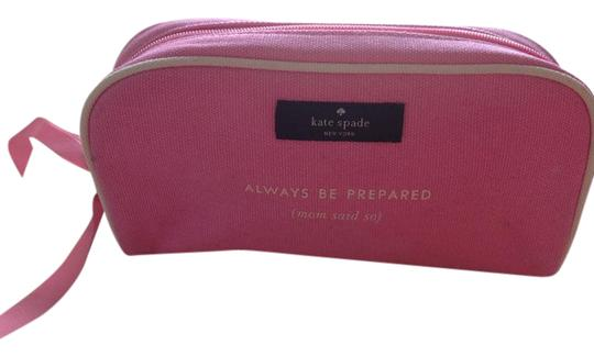 Preload https://img-static.tradesy.com/item/21104814/kate-spade-pink-always-be-prepared-mom-said-so-cosmetic-bag-0-1-540-540.jpg