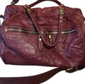 orYANY Satchel in medium burgandy Image 0