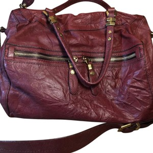 orYANY Satchel in medium burgandy