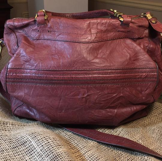 orYANY Satchel in medium burgandy Image 2