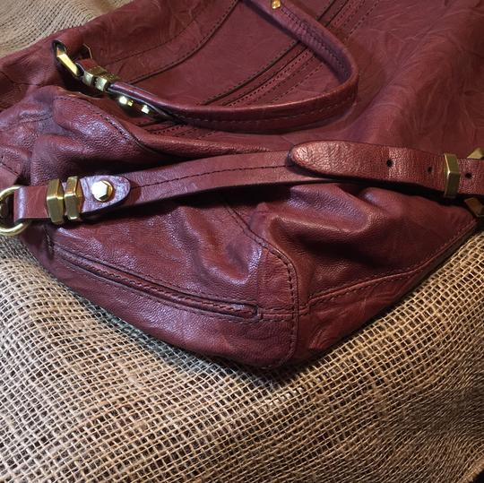 orYANY Satchel in medium burgandy Image 5