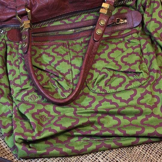 orYANY Satchel in medium burgandy Image 6