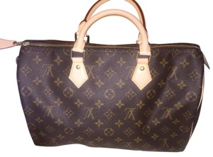 Louis Vuitton Speedy Satchel in Classic Monogram