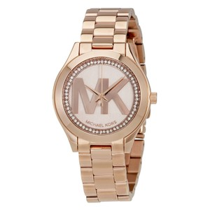 Michael Kors Michael Kors Women's Mini Slim Runway Rose Gold Bracelet Watch MK3549