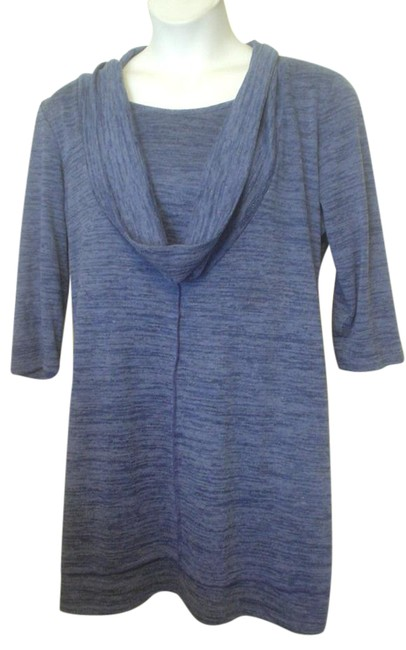 Preload https://img-static.tradesy.com/item/21105186/adressing-woman-blue-xl-cowl-neck-bue-space-knit-long-casual-comfort-style-ec-tunic-size-16-xl-plus-0-1-650-650.jpg