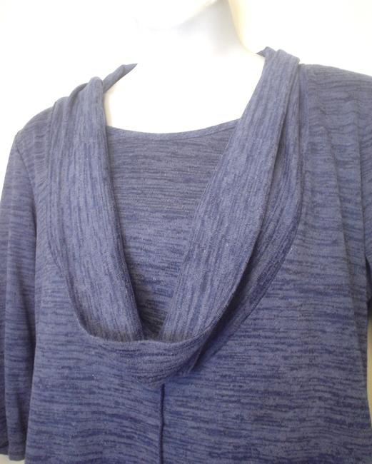 aDRESSing WOMAN Cowl Neck Space Knit Siz Xl Tunic Image 2