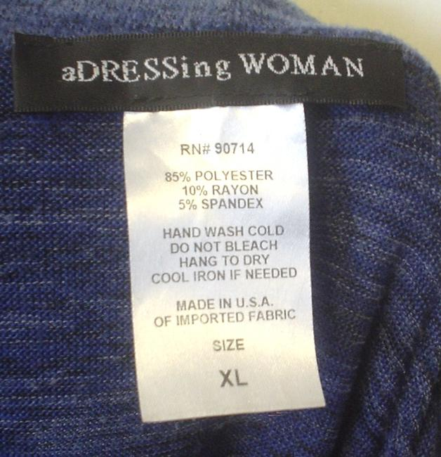 aDRESSing WOMAN Cowl Neck Space Knit Siz Xl Tunic Image 4