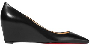 Christian Louboutin Pipina 55mm Pumps Black Wedges