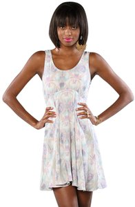 Free People short dress Multi color on Tradesy