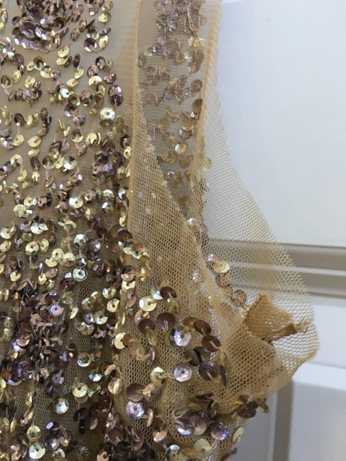 Other Gold Sequin Sleeveless Party Sexy Dress Image 3