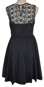 Moulinette Soeurs short dress Black Lace on Tradesy