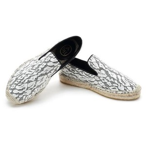 Ash Espadrilles Zoe Lace Slip-on White Flats