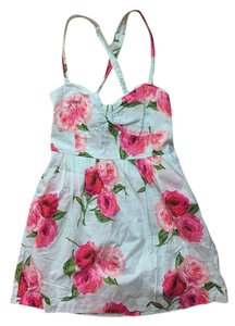 Abercrombie & Fitch short dress Mint & Floral Floral on Tradesy