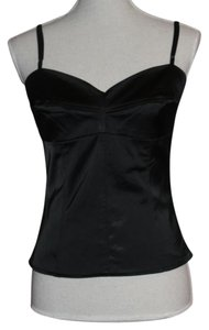 A.B.S. by Allen Schwartz Top Black Bustier