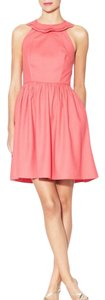 BHLDN Sleeveless Ruffle Silk Scalloped A-line Dress