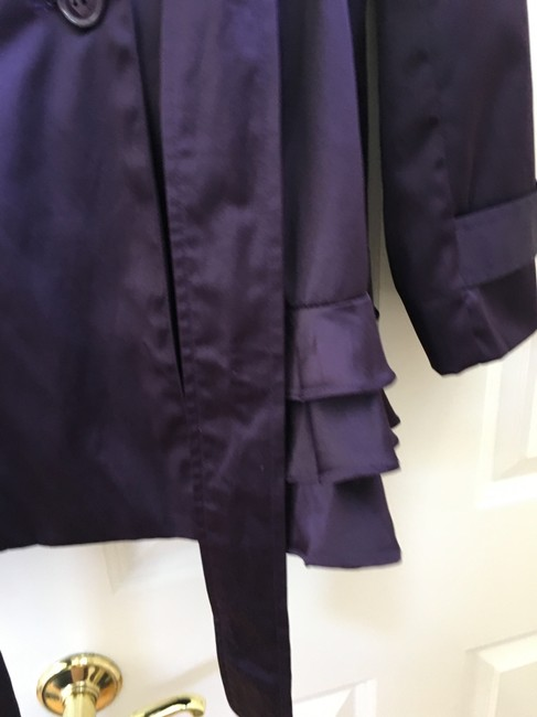 Esley Ruffles Trench Coat Image 1